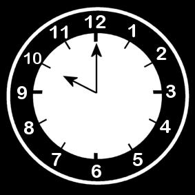 10 .o clock