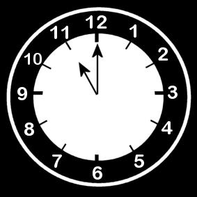 11 .o clock