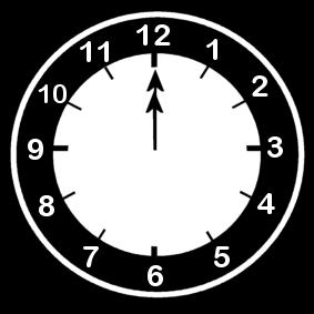 12 .o clock