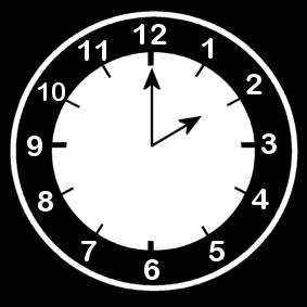 2 .o clock