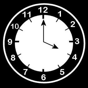 4 .o clock