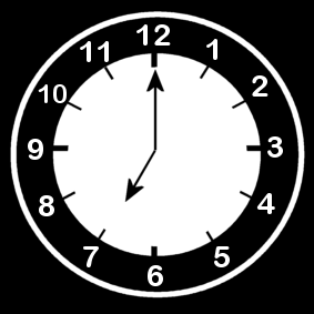 7 .o clock