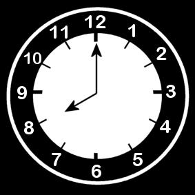 8 .o clock