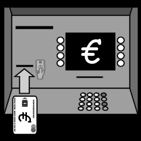 ATM bankcard insert